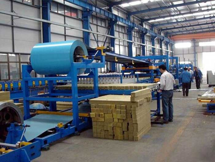 EPS PU Sandwich Panel Production Line