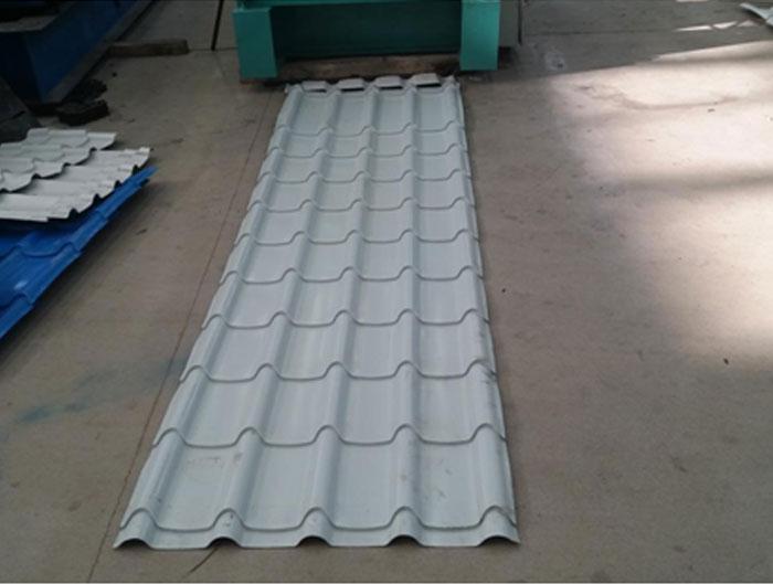 Glazed Tile Forming Machine