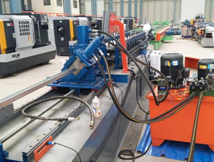 High Speed Drywall Stud And Track Forming Machine with Servo Motor Drive