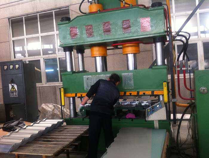 Stone Coated Roof Tile Production Line - Roll Forming Machine
