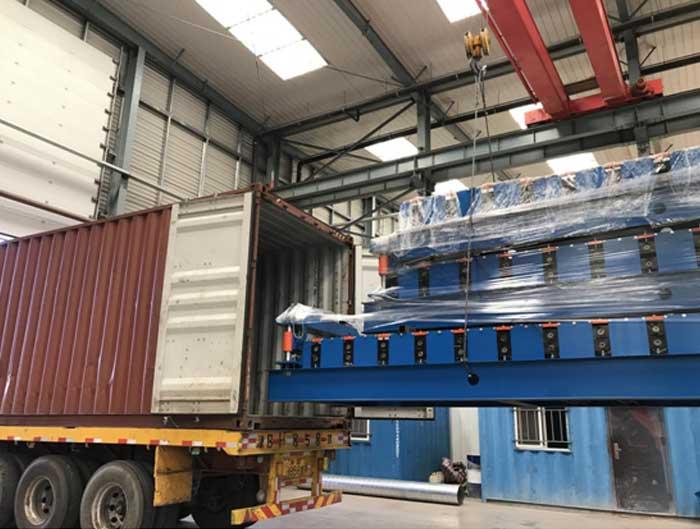UK Market Metal Roof Forming Machine 32-250-1000