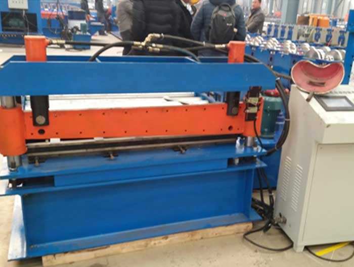 Leveler And Cut To Length Machine