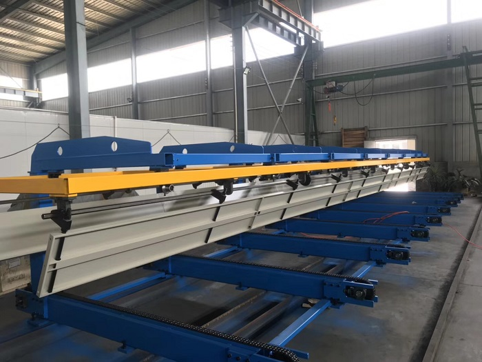 Euro Design Double Layer Roof Sheet Roll Forming Machine