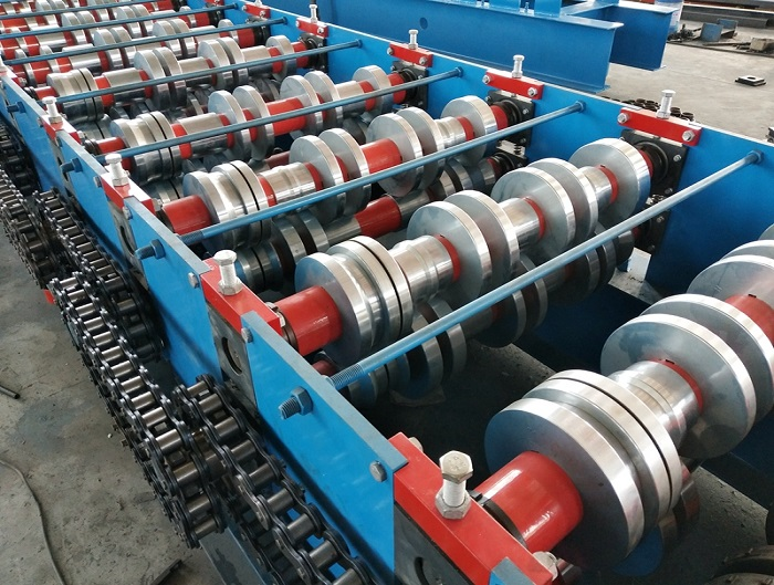 1.2mm Thickness Custom Steel Floor Deck Forming Machine