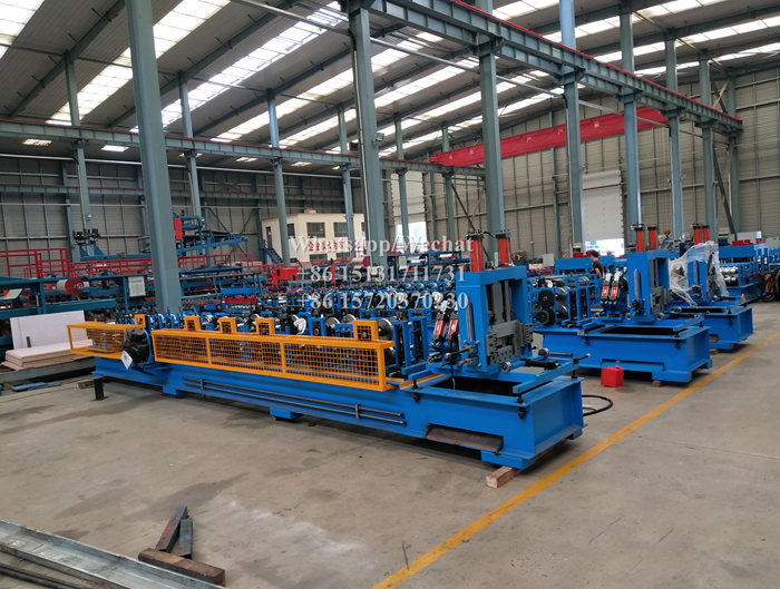 Stock Machine Steel C Z Purlin Roll Forming Machine 20 sets