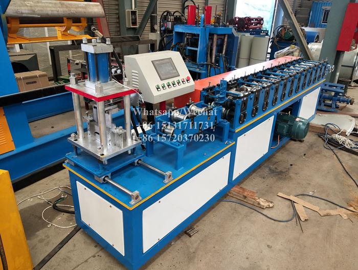 Galvanized Aluminium Rolling Shutter Slats Roll Forming Machine