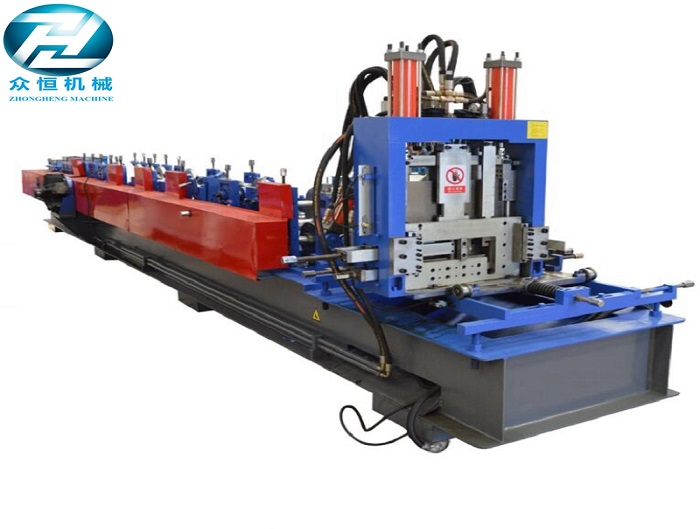 Gear Box Drive Z Purlin Roll Forming Machine for 4mm