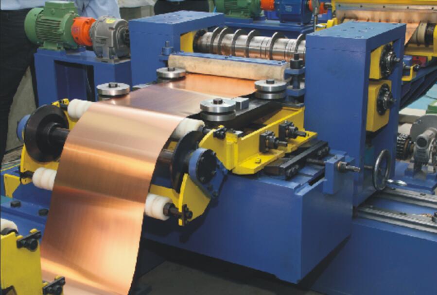 High Precise Simple Mini Slitting line for copper