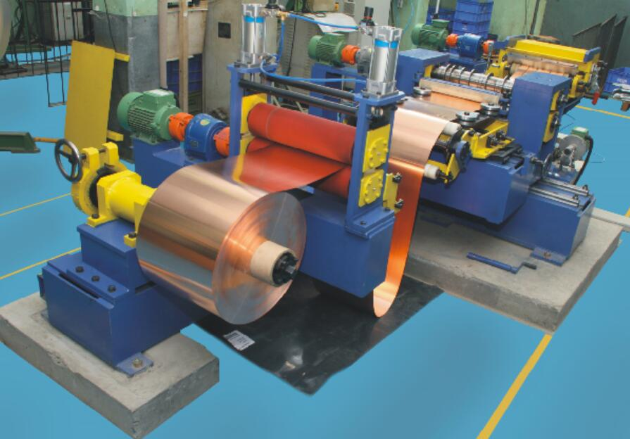High Precise Simple Mini Slitting line for copper