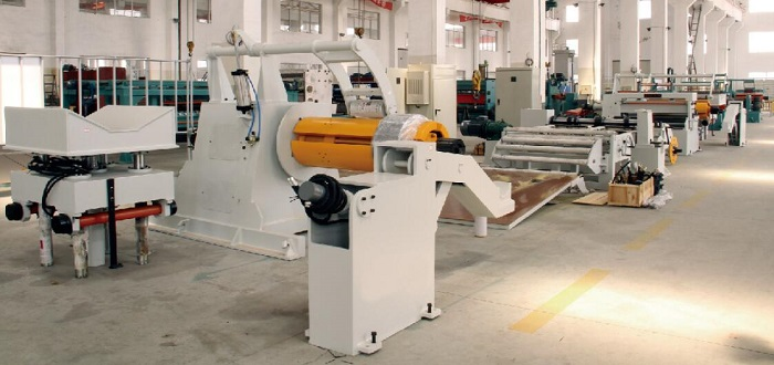 High Precision Coil Steel Strip Cutting and Slitting Machine