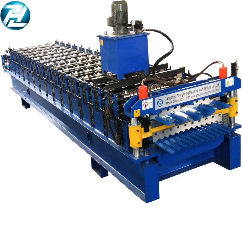 Full auto Line double Layer roll forming machine