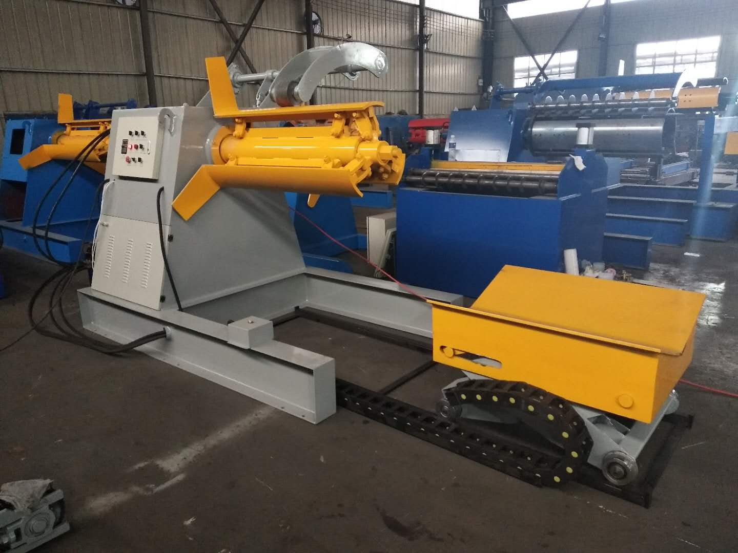 5 to 15 Ton Hydraulic Decoiler