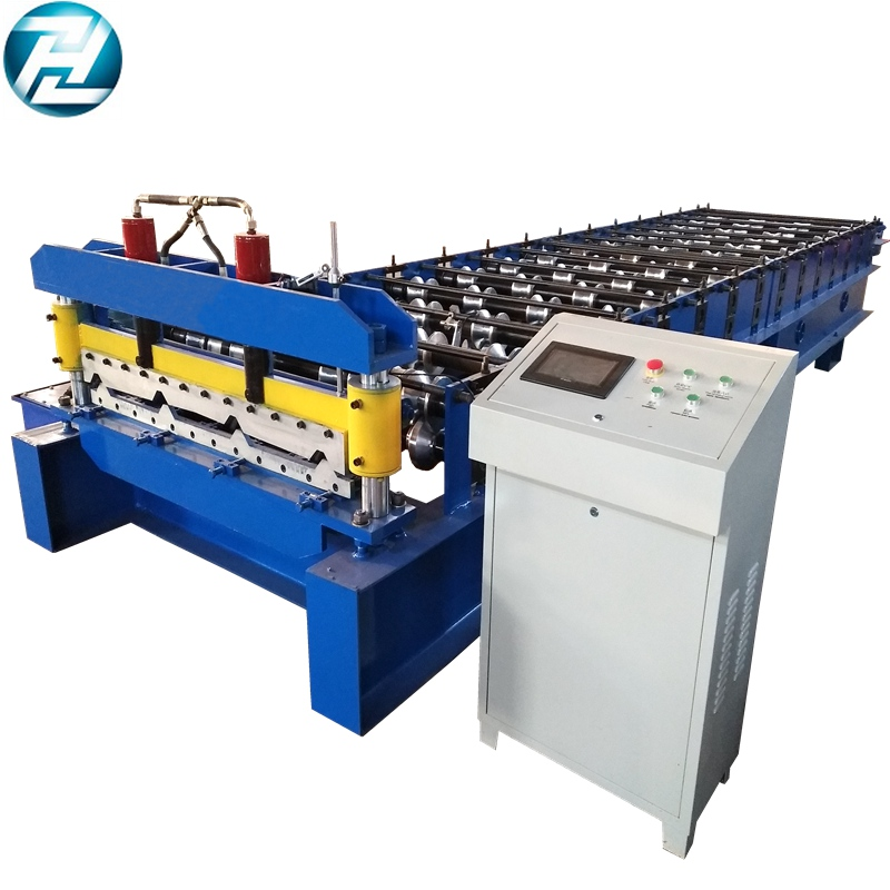 32-350-1050 High Rib Steel Roof Panel Forming Machine