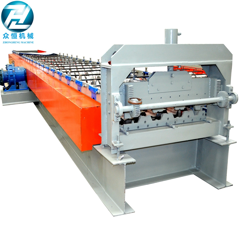 Steel Decking Roll Forming Machine - Roll Forming Machine