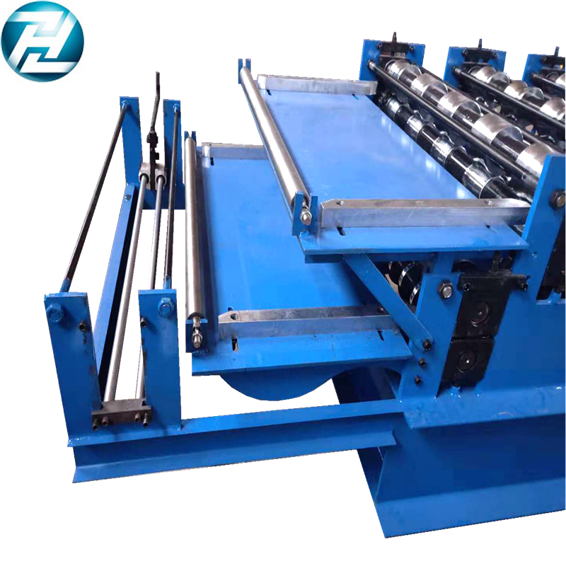 Africa popular Double deck roof sheet making machine