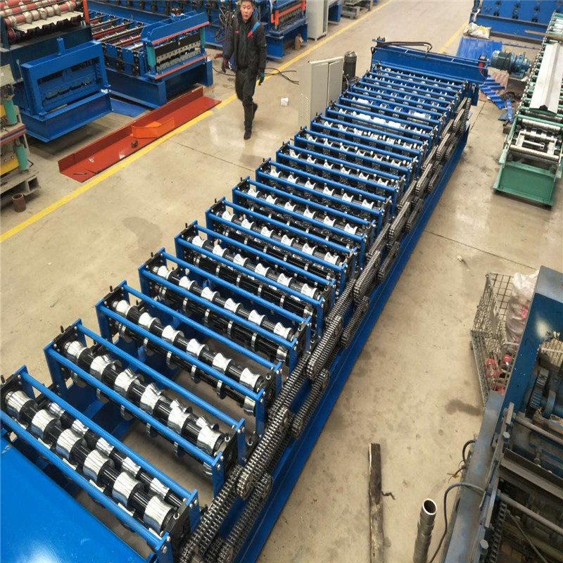 Peru popular two in one metal roof roll forming machine