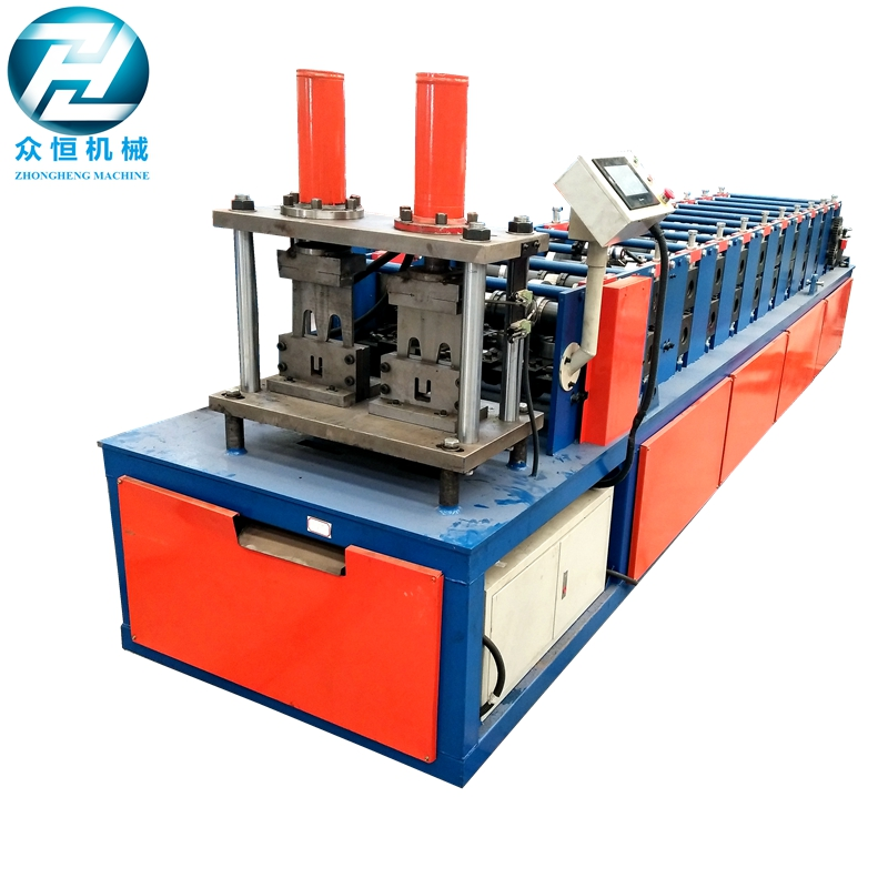 Stud Roll forming machine with punch function for UK customer