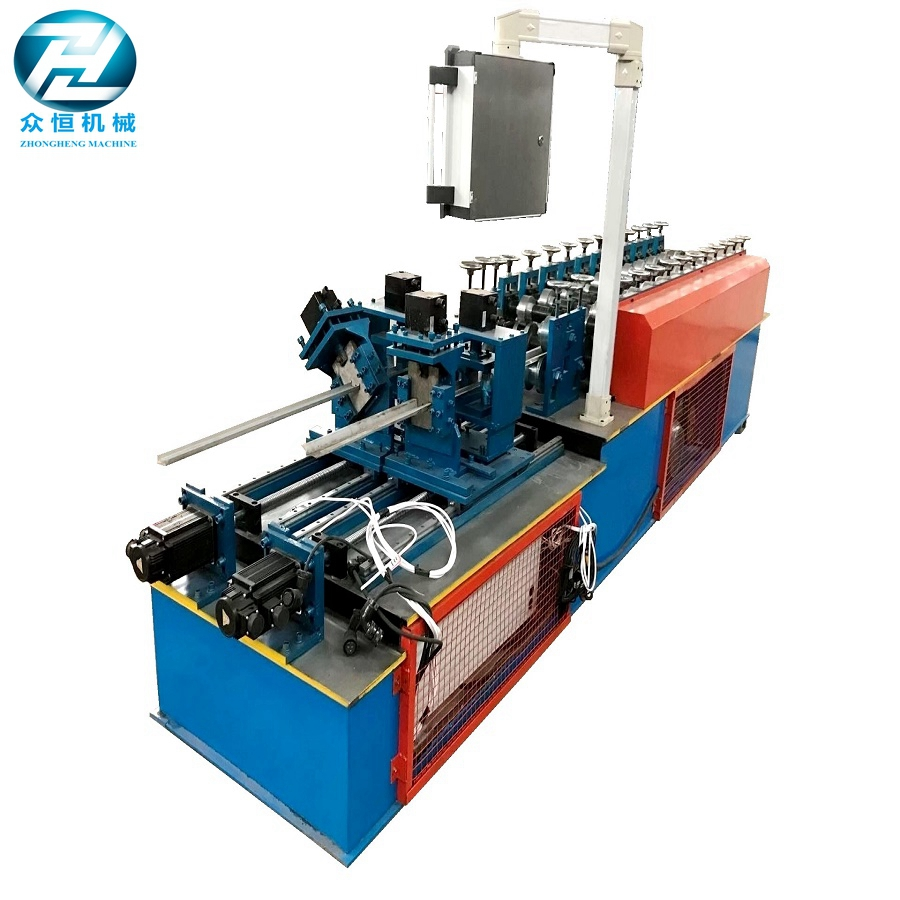 Light steel stud and track forming machine