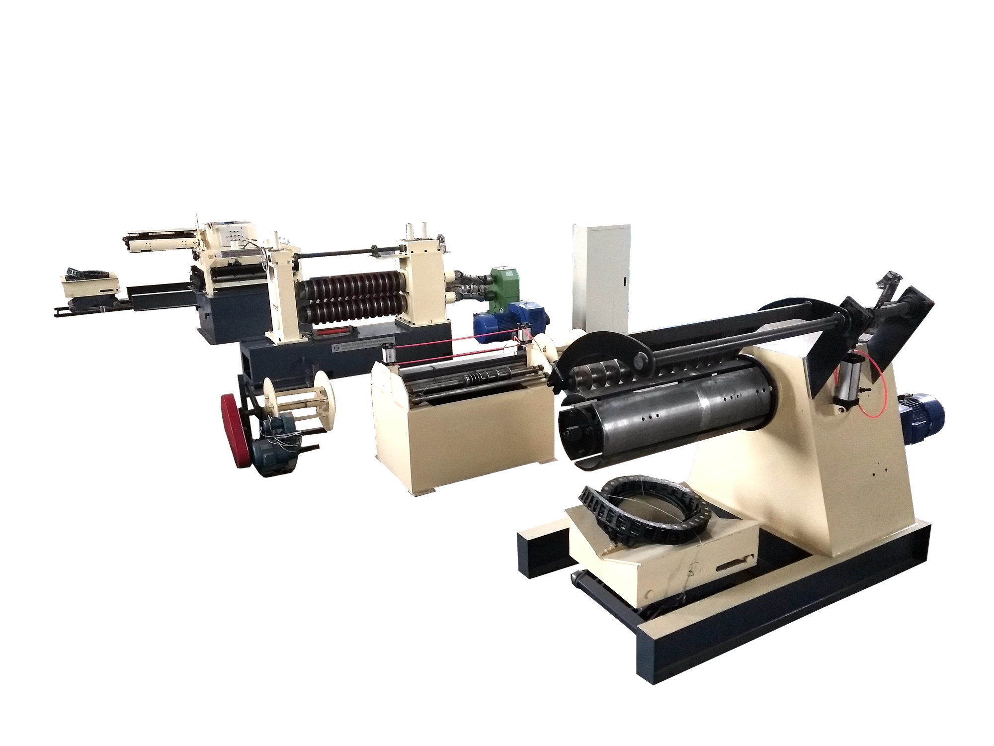 High speed and precision stainless steel coil slitting machine