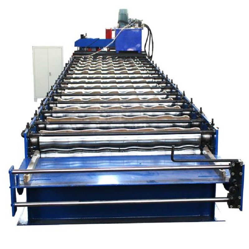 Metal Roof Tile Roll Forming Machine for Mexico