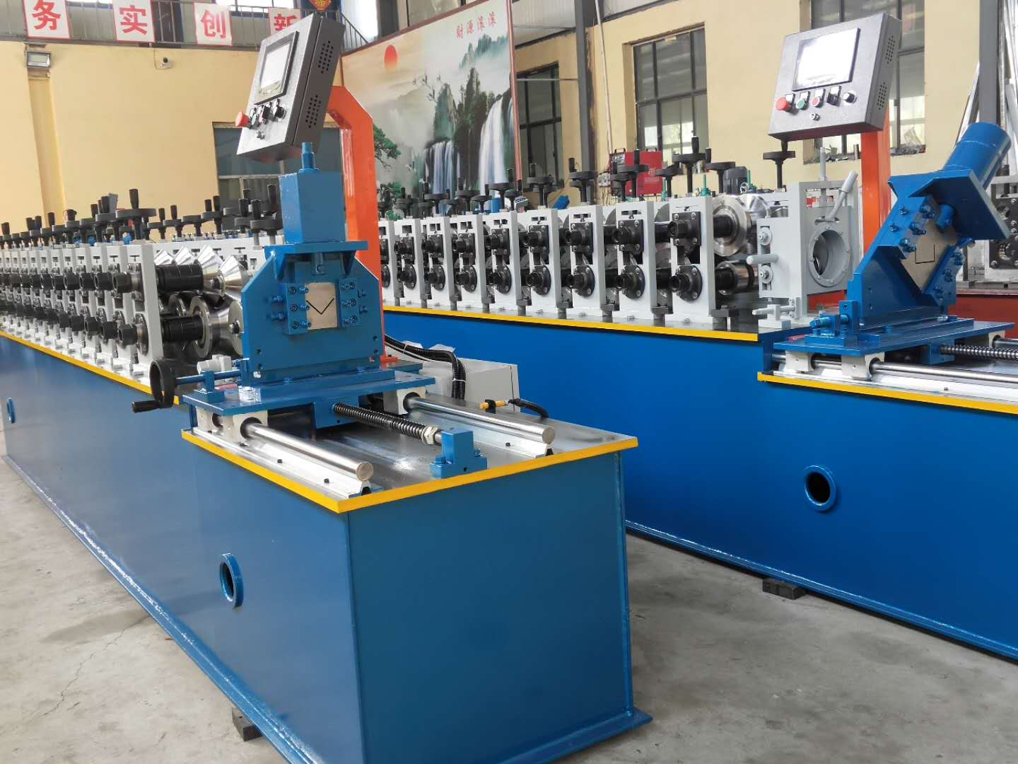 Automatic C and Z Purlin Forming Machine