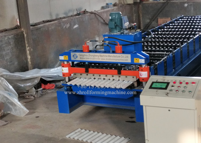 Roof Making Machine / Corrugated Sheet Roll Forming Machine‎
