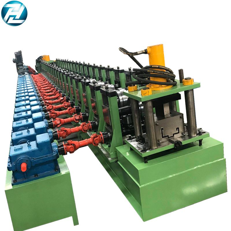 Galvanized door frame making machine
