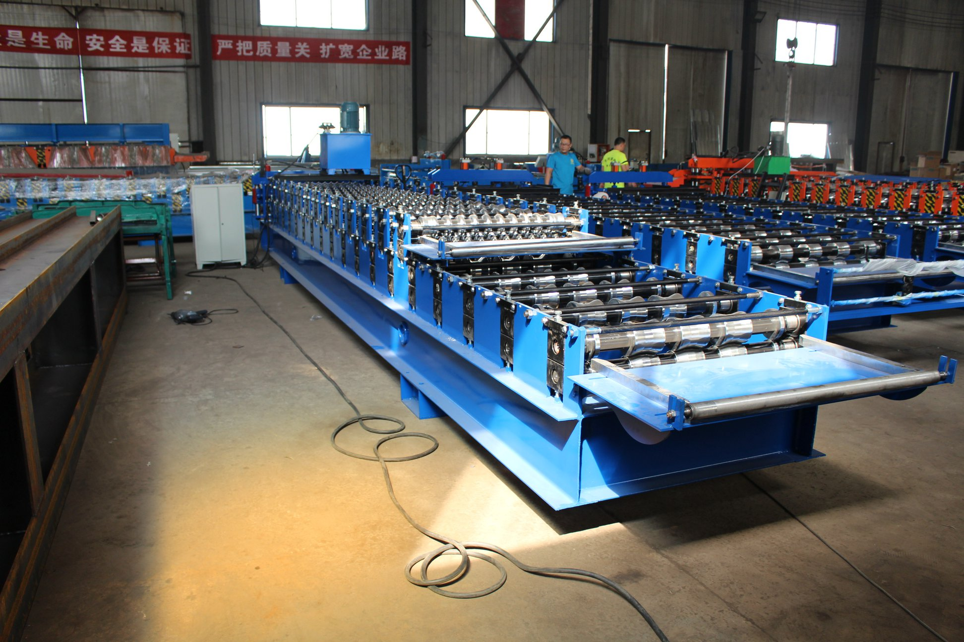 IBR Corrugated Sheet roll forming machine for South Africa