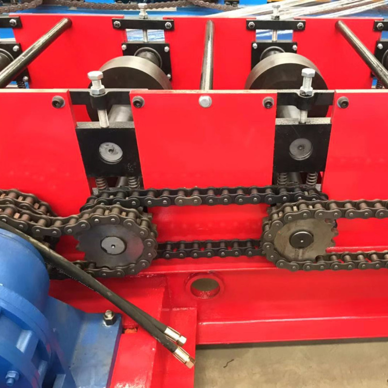 2mm thickness CU channel Quick chage size Roll Forming Machine