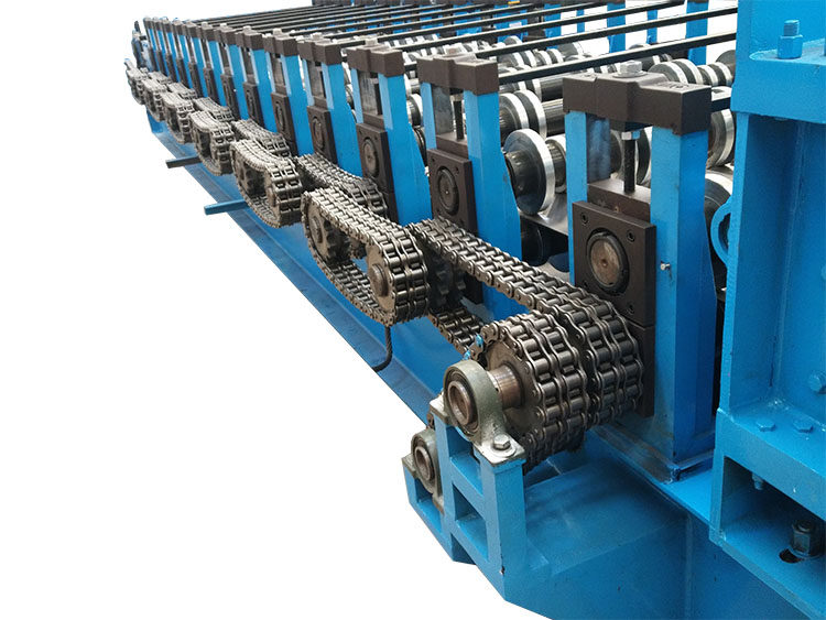 Container board car panel production roll forming machine
