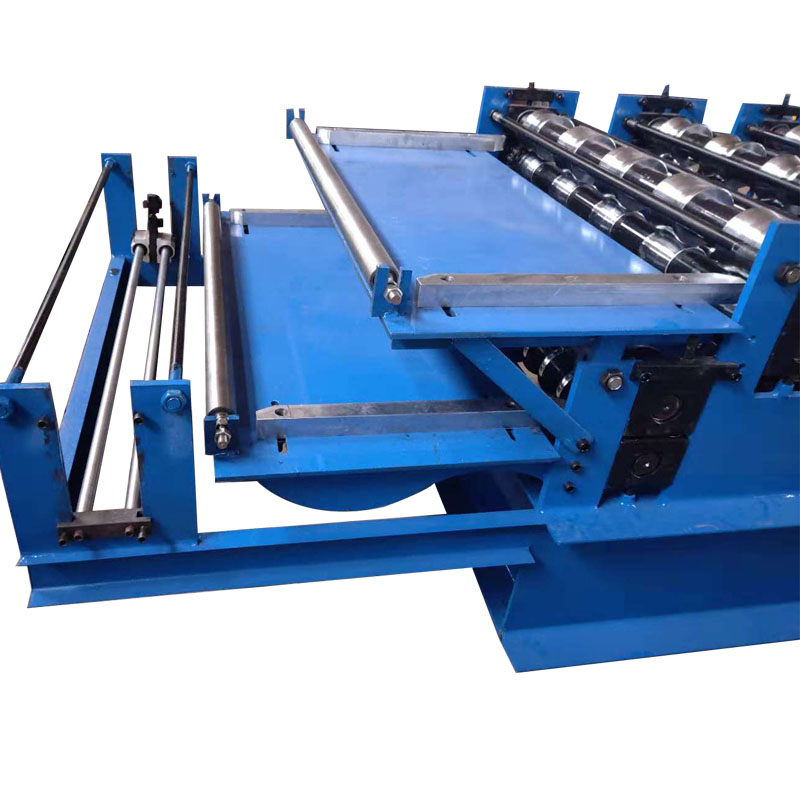 Double layer Galvanized Corrugated Metal Roofing Sheets Forming Machine