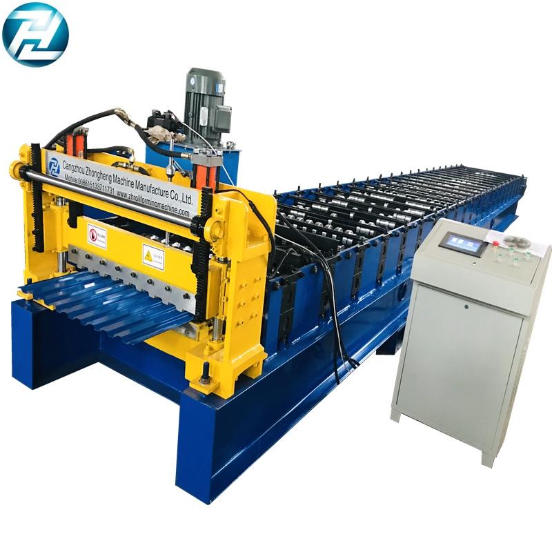 Sri Lanka Popular model of Shutter Door Making Machine with 716mm effective width