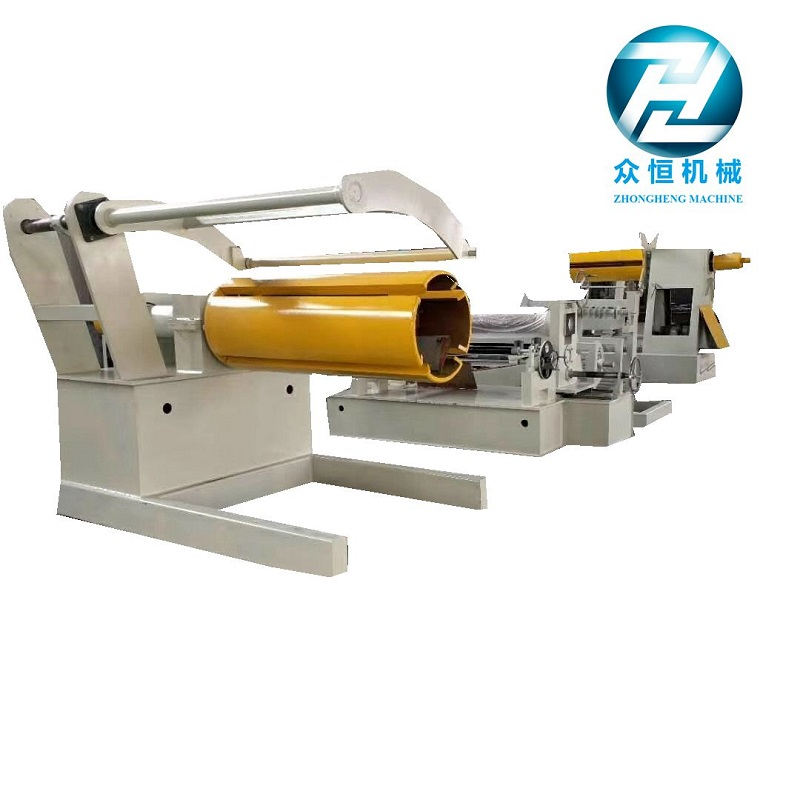 Simple slitting line for thickness below 1.5mm