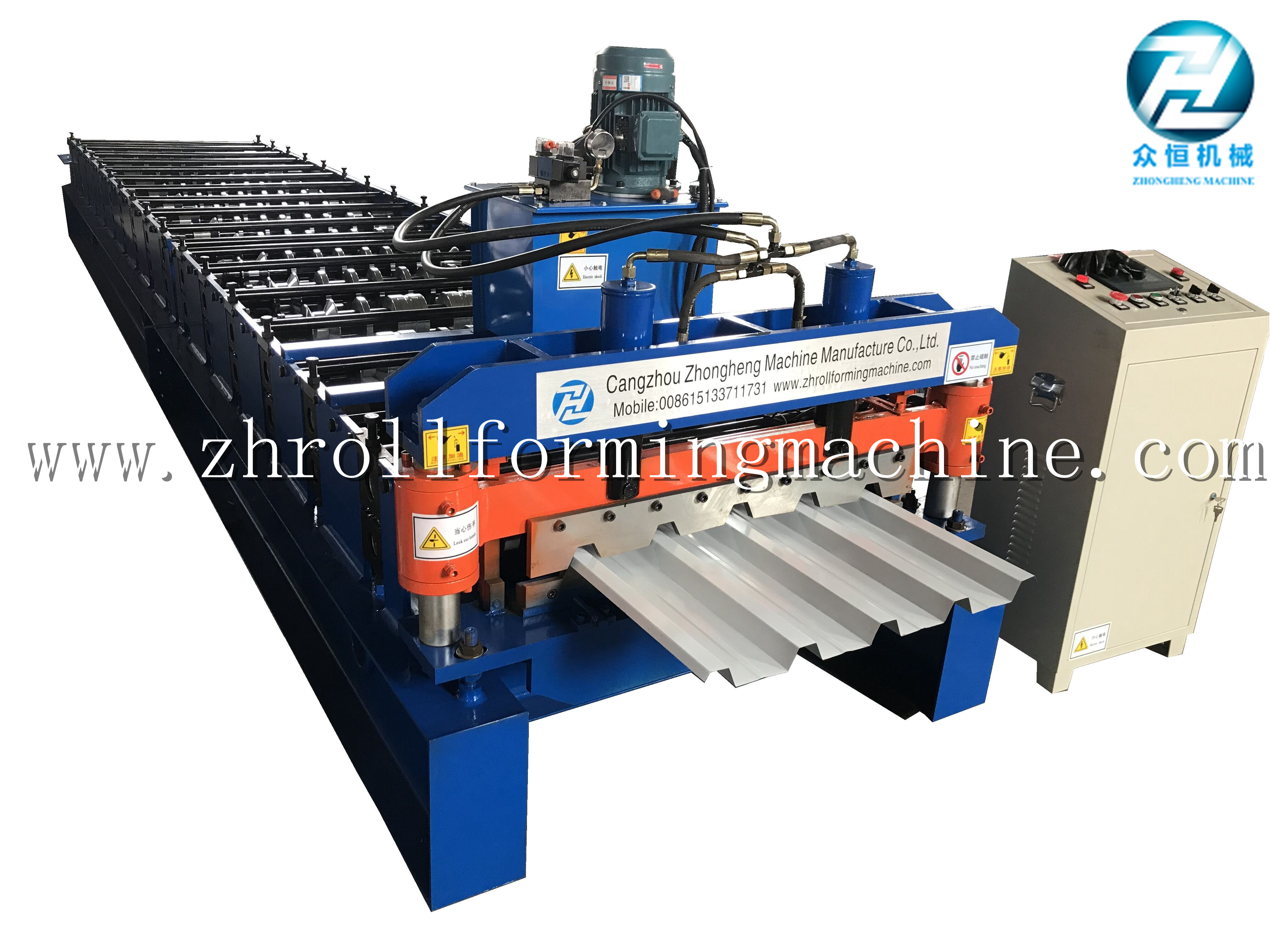 Standard roof sheet 686 IBR roll forming machine for south africa