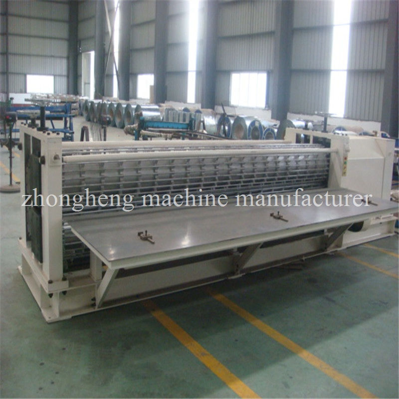 Barrel type corrugated sheet roll forming machine