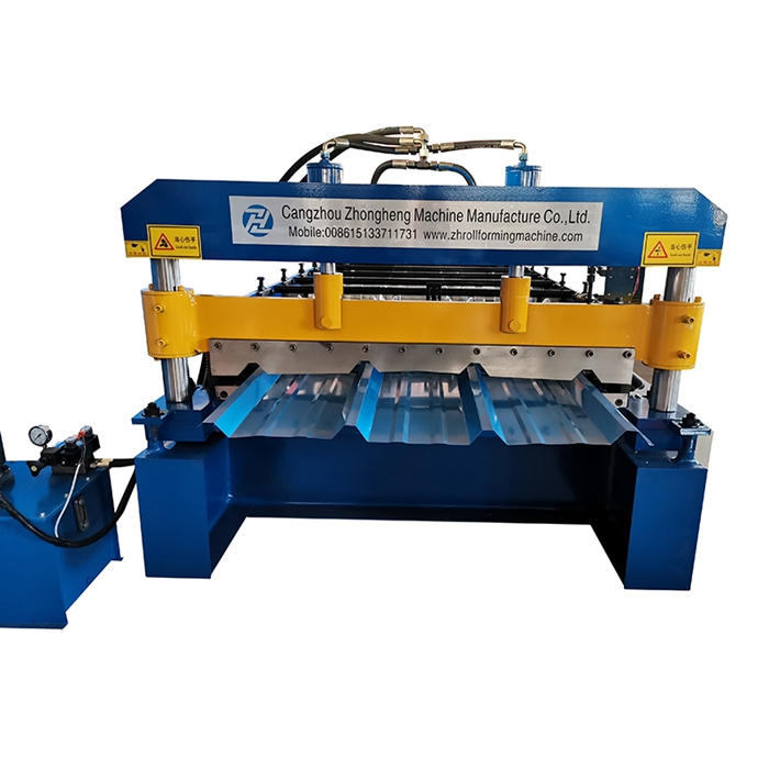 PBR roof sheet roll forming machine