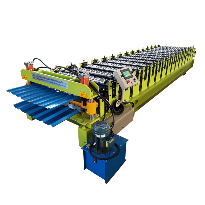 Tr40 Tr10 double deck forming machine