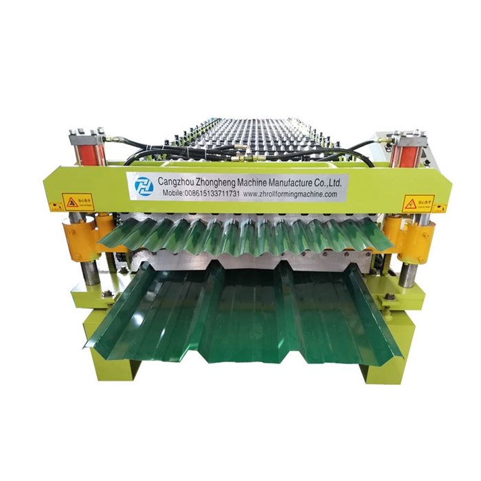 Tr4 Tr5 Double layer roll forming machine