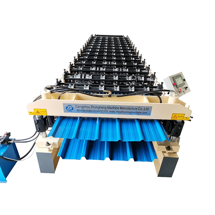 Tr35/Tr20 Double deck roll forming machine