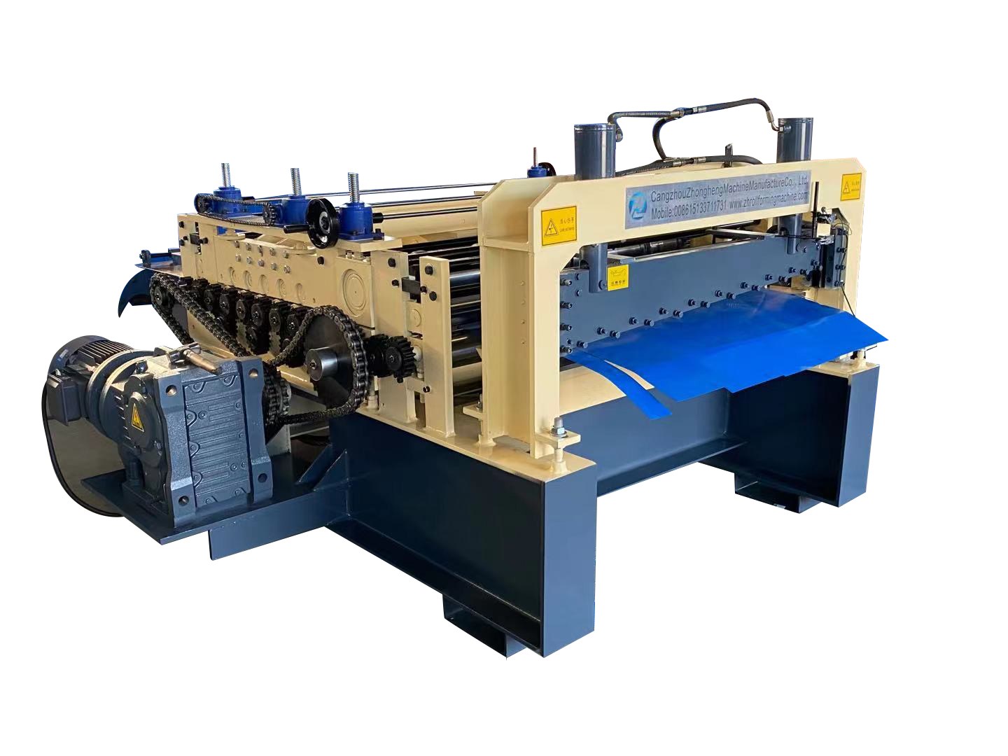 Black Steel 2-3mm Thickness Cut to Length Machine Cutting Machine with Lifting Tools6 Black Steel 2-3mm Thickness Cut to Length Machine Cutting Machine with Lifting Tools