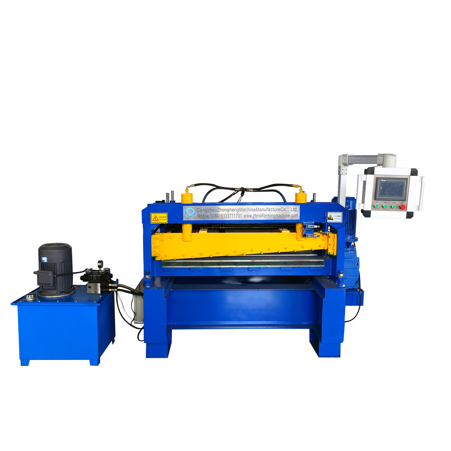 Cut-to-Length Line Roll Forming Machine