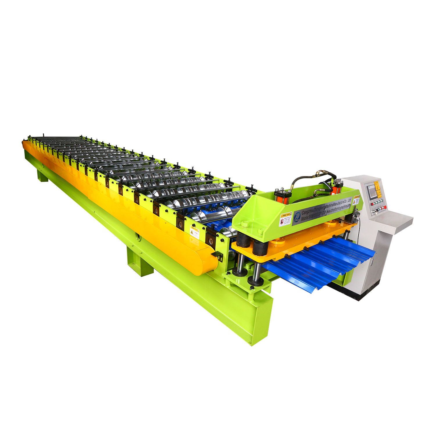 High Quality High Speed AaluminumZinc Roofing Color Steel IBR Sheet Roll Forming Machine