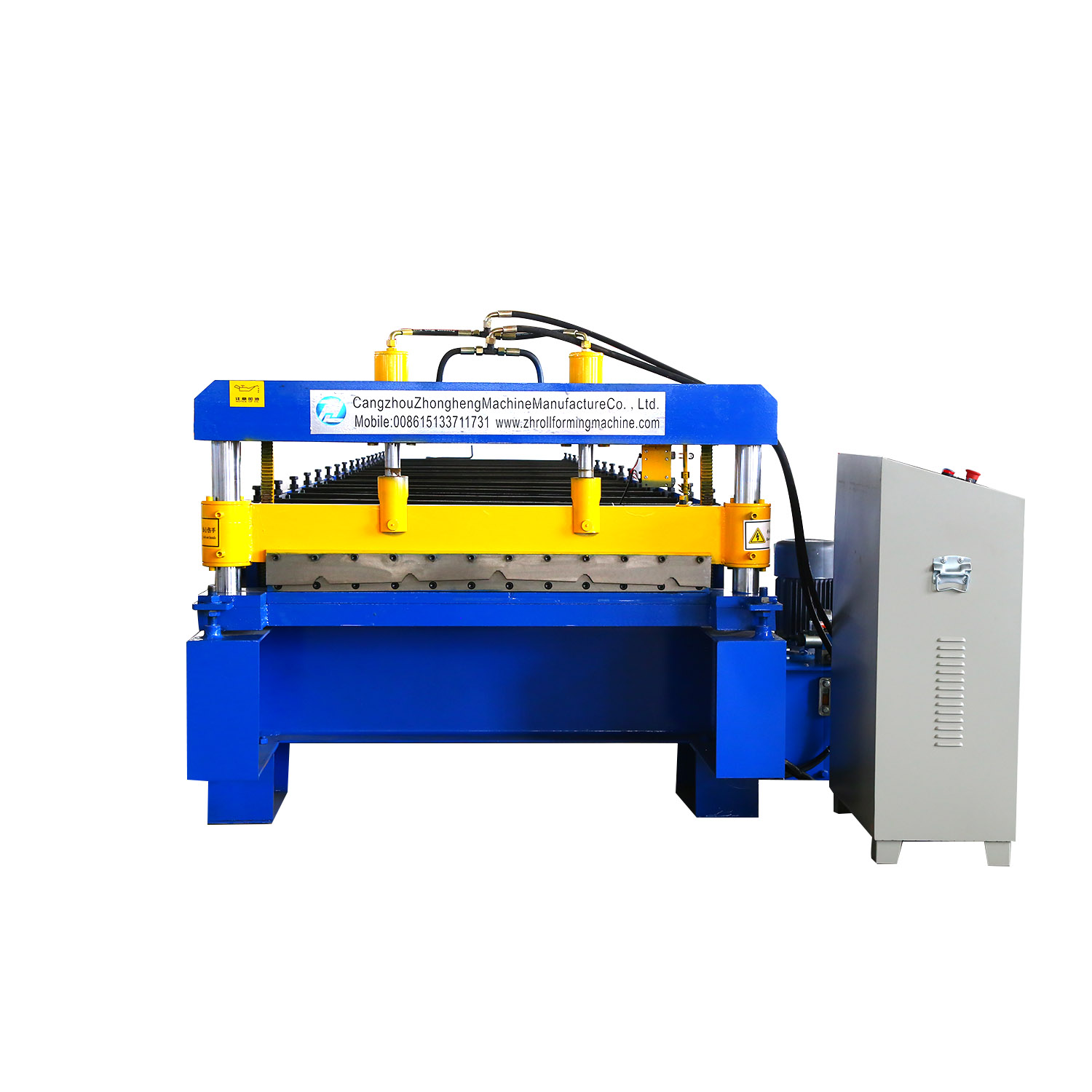 New IBR Trapezoid 4 metal roofing tiles making machine roofing sheet making machinery/roll forming machine manifaqcturfer
