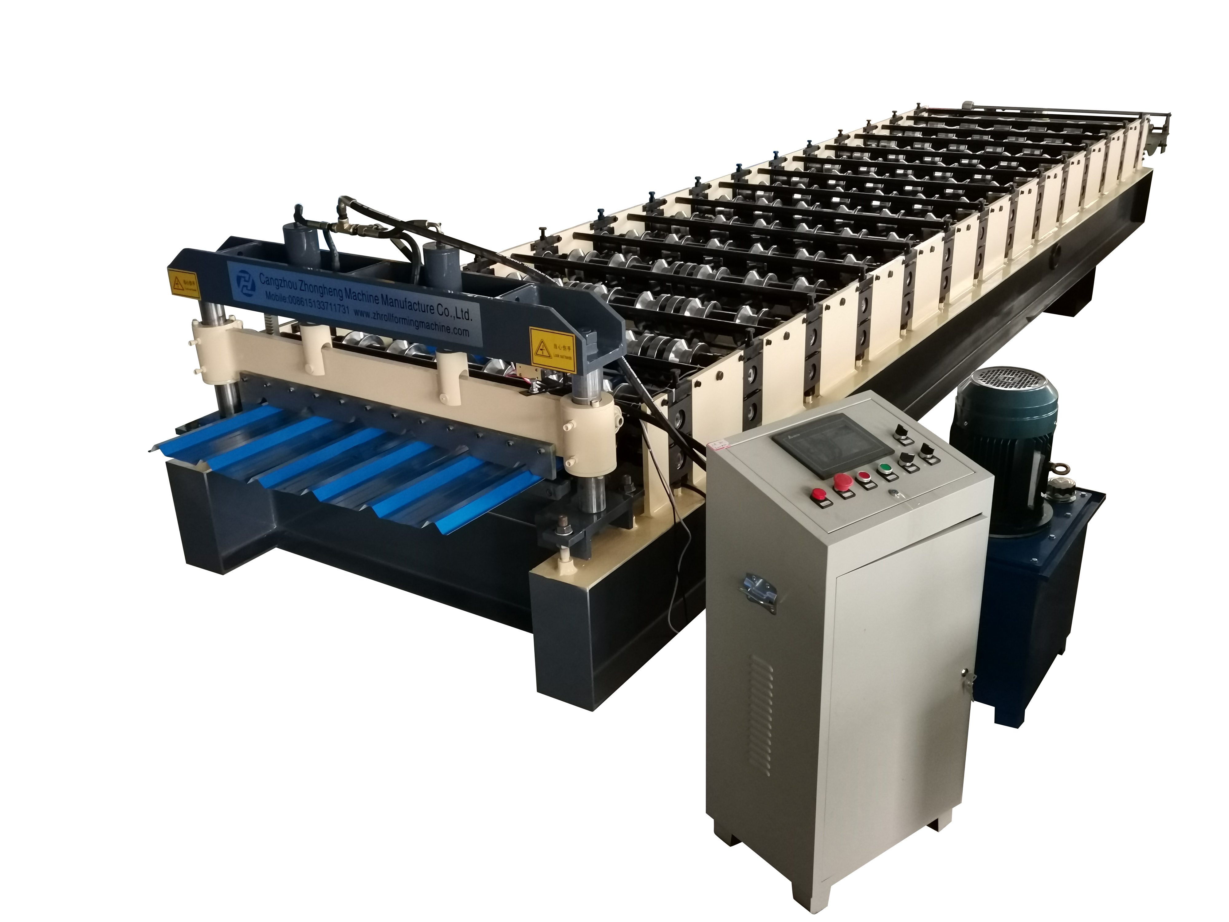 high quality profile type roof sheet roll forming machine from ZH Machine