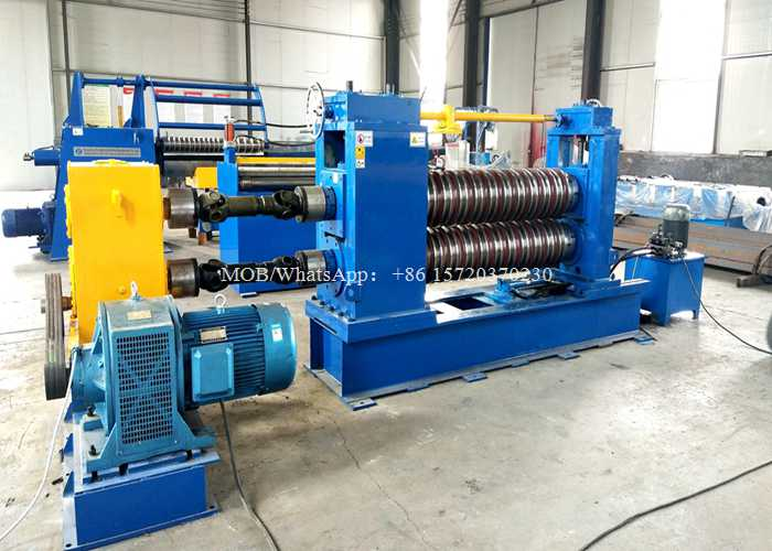 China Aluminium Steel Coil Slitting Line for 3MM