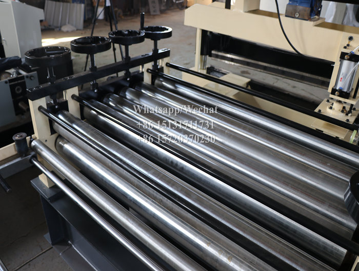 25M/min Steel Coil Cut To Length Line for 1mm