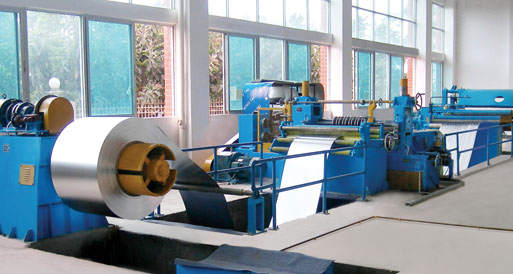 600mm Simple slitting line ready in stock
