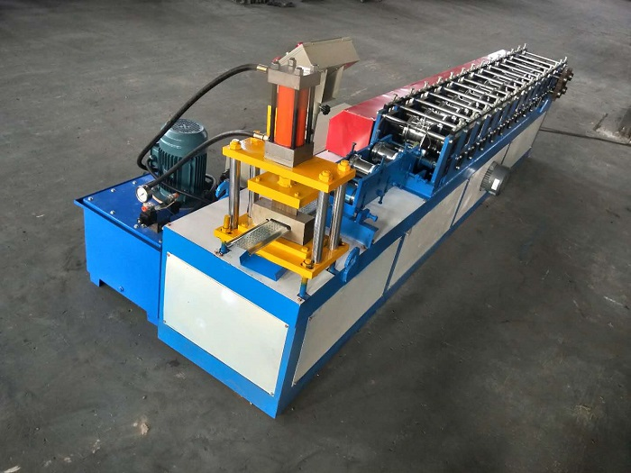 Two in one design rolling shutter machine ready for delivery