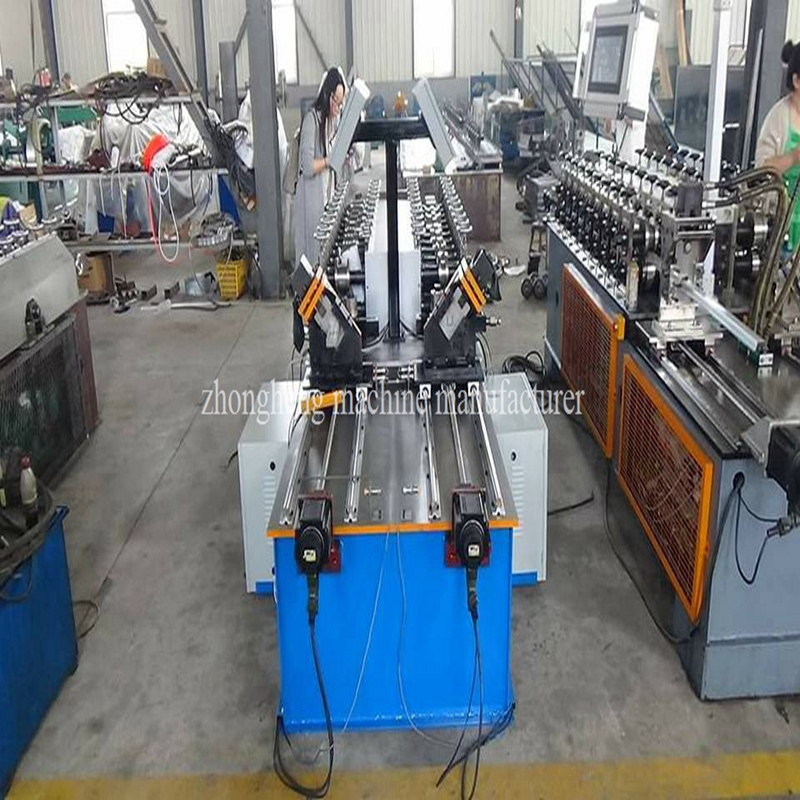 ZhongHeng 60 type stud and track Roll former machine