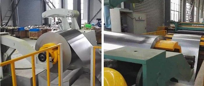 High Speed Plate CR Cut To Length Levelling Line